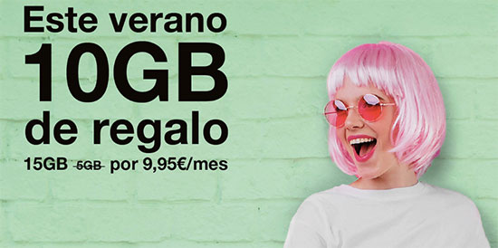 ORANGE prepago con 10GB de regalo