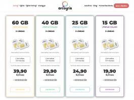 Las nuevas tarifas de Arcoyris móvil LGTB