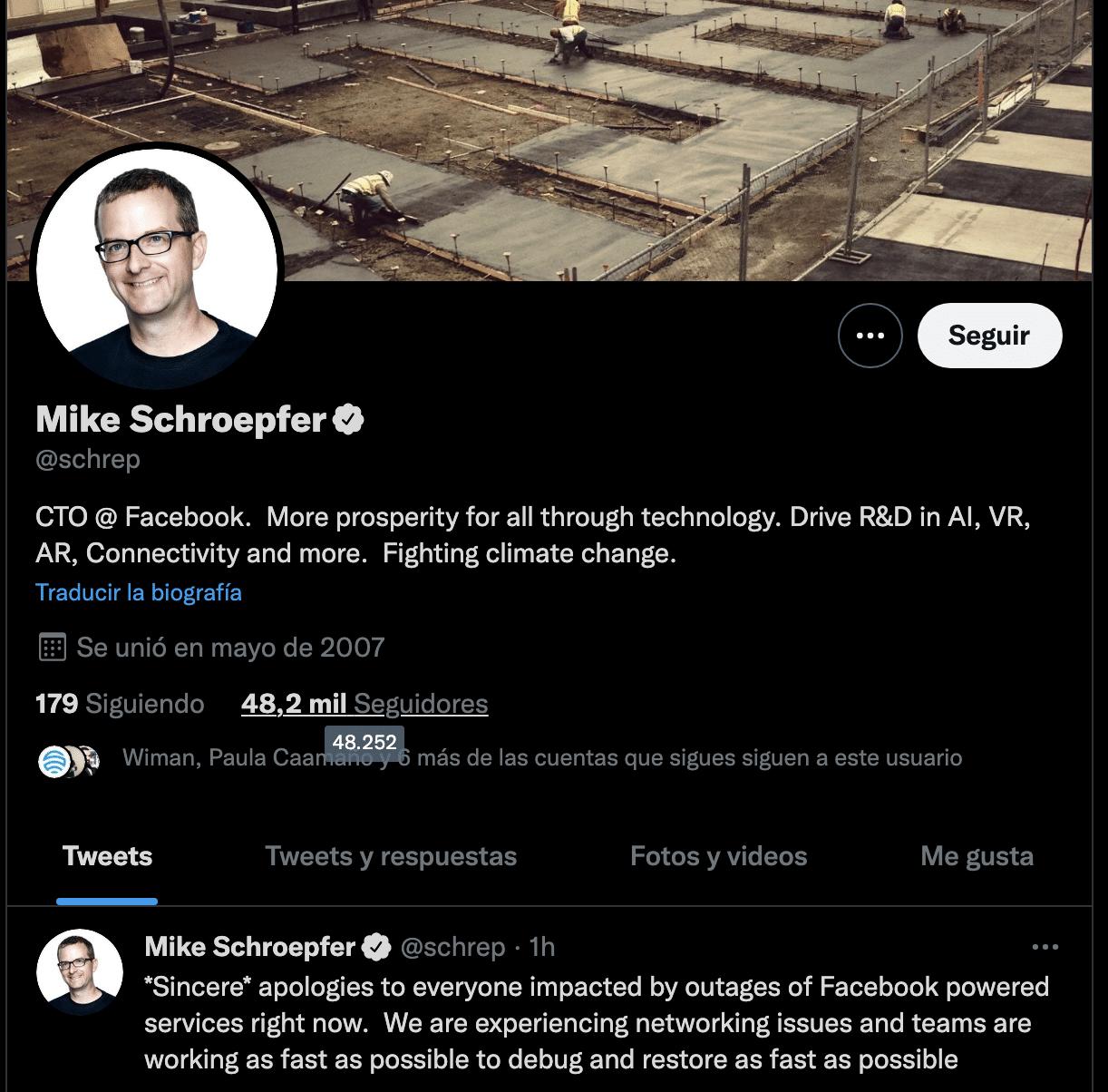 CEO FACEBOOK pide disculpas