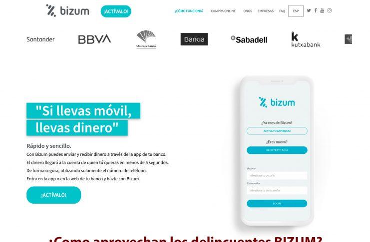 Como usan BIZUM los delincuentes para intentar estafar a los usuarios
