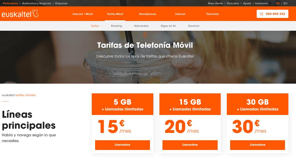 Euskaltel regala 30GB a sus clientes por el coronavirus