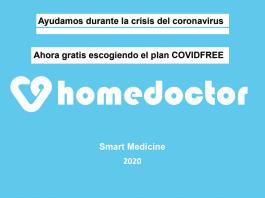 HomeDoctor gratis durante el Coronavirus