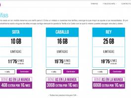 ION MOBILE ofrece hasta 60GB extra por 1€