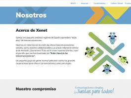 Tarifas Xenet Julio 2021 red Movistar